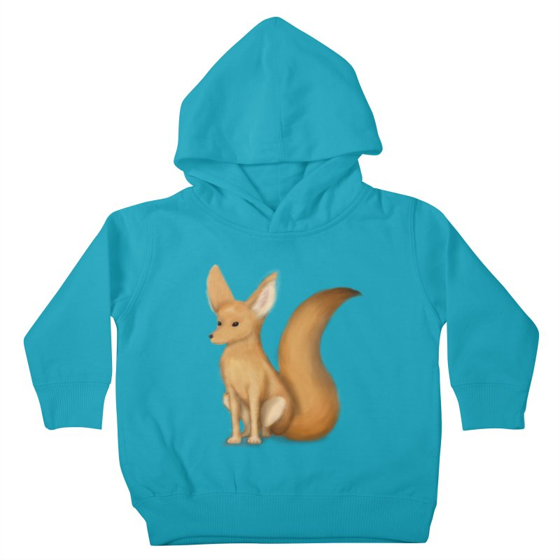 Furry Fox Kids Toddler Pullover Hoody by stephanie's Artist Shop