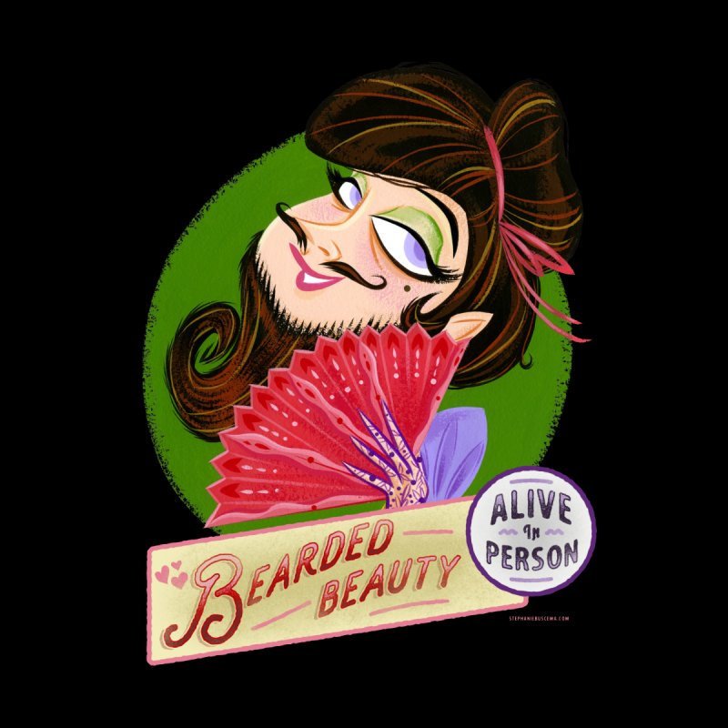 Bearded Beauty —Alive in Person by Stephanie Buscema