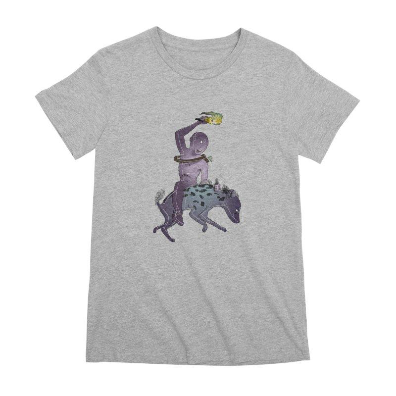 In the Dark of the Night Women's Premium T-Shirt by Stephanie Gobby's Artist Shop
