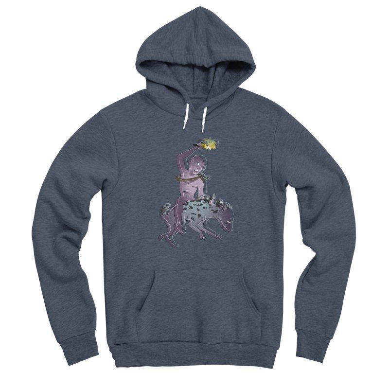 In the Dark of the Night Women's Sponge Fleece Pullover Hoody by Stephanie Gobby's Artist Shop