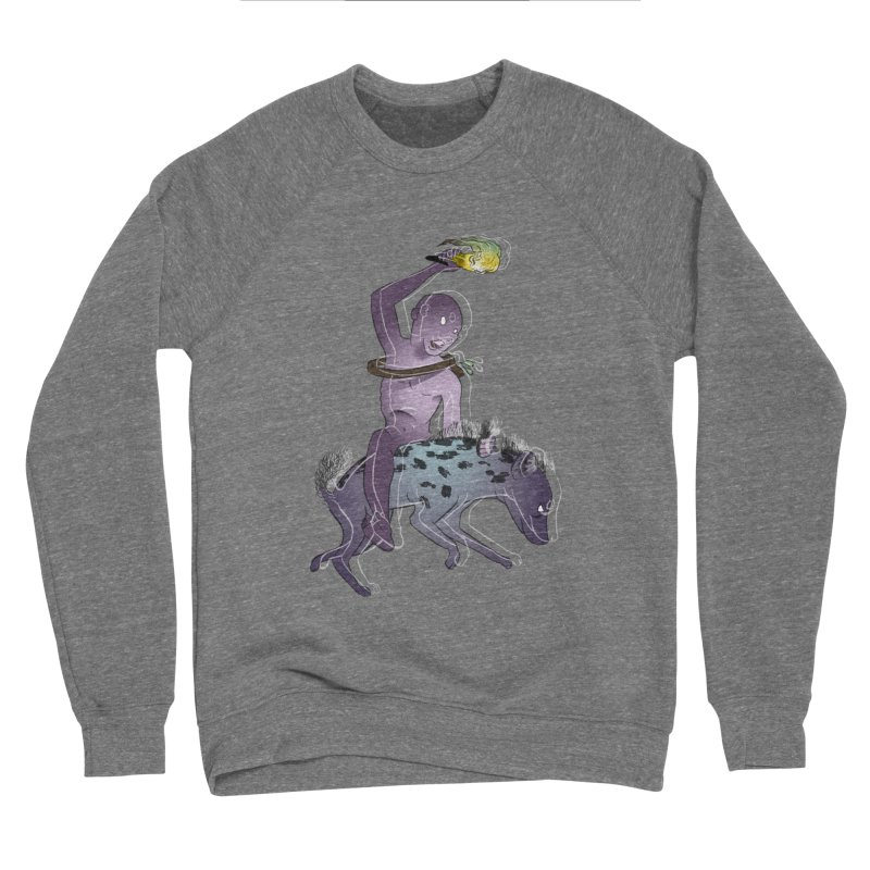 In the Dark of the Night Men's Sponge Fleece Sweatshirt by Stephanie Gobby's Artist Shop