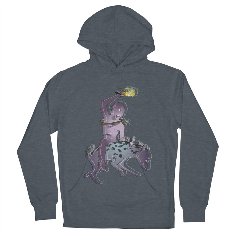 In the Dark of the Night Women's French Terry Pullover Hoody by Stephanie Gobby's Artist Shop