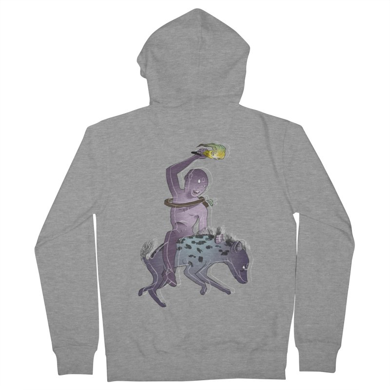 In the Dark of the Night Women's French Terry Zip-Up Hoody by Stephanie Gobby's Artist Shop