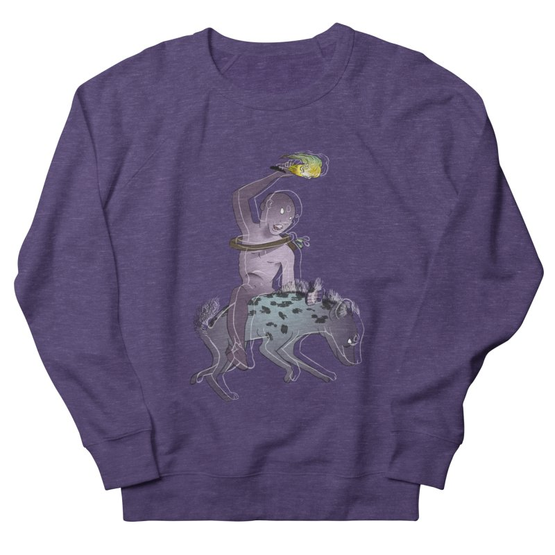 In the Dark of the Night Men's French Terry Sweatshirt by Stephanie Gobby's Artist Shop