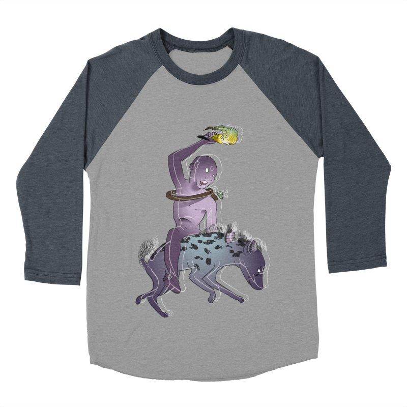 In the Dark of the Night Men's Baseball Triblend Longsleeve T-Shirt by Stephanie Gobby's Artist Shop