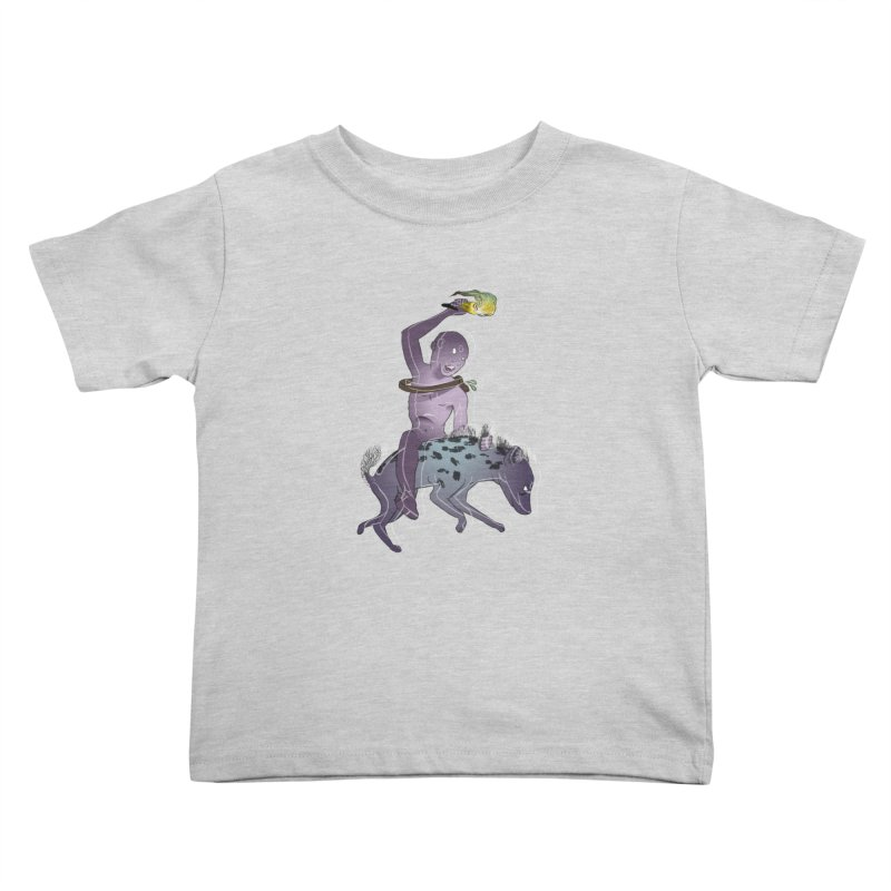 In the Dark of the Night Kids Toddler T-Shirt by Stephanie Gobby's Artist Shop