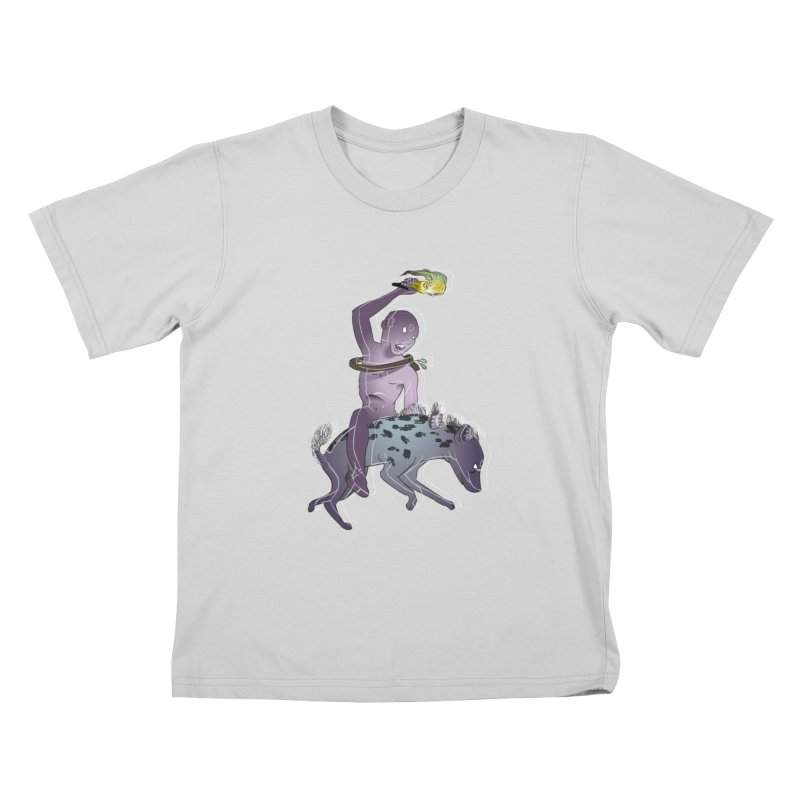 In the Dark of the Night Kids T-Shirt by Stephanie Gobby's Artist Shop