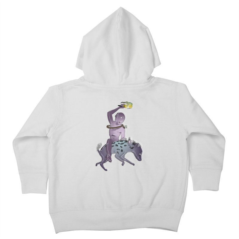 In the Dark of the Night Kids Toddler Zip-Up Hoody by Stephanie Gobby's Artist Shop