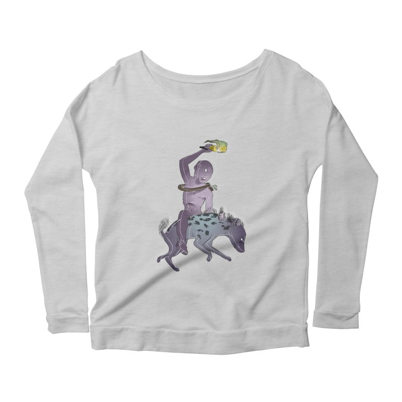 In the Dark of the Night Women's Scoop Neck Longsleeve T-Shirt by Stephanie Gobby's Artist Shop