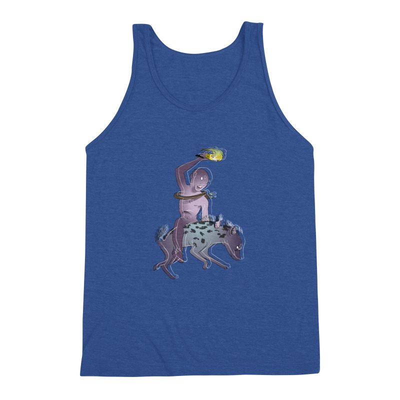 In the Dark of the Night Men's Triblend Tank by Stephanie Gobby's Artist Shop