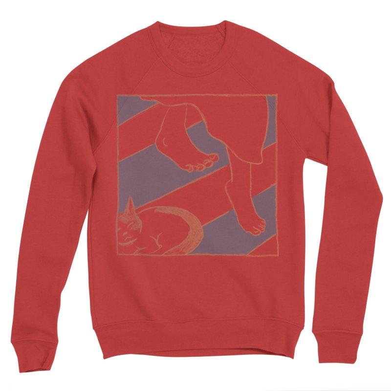 Sleepy Kitty Women's Sweatshirt by Stephanie Gobby's Artist Shop