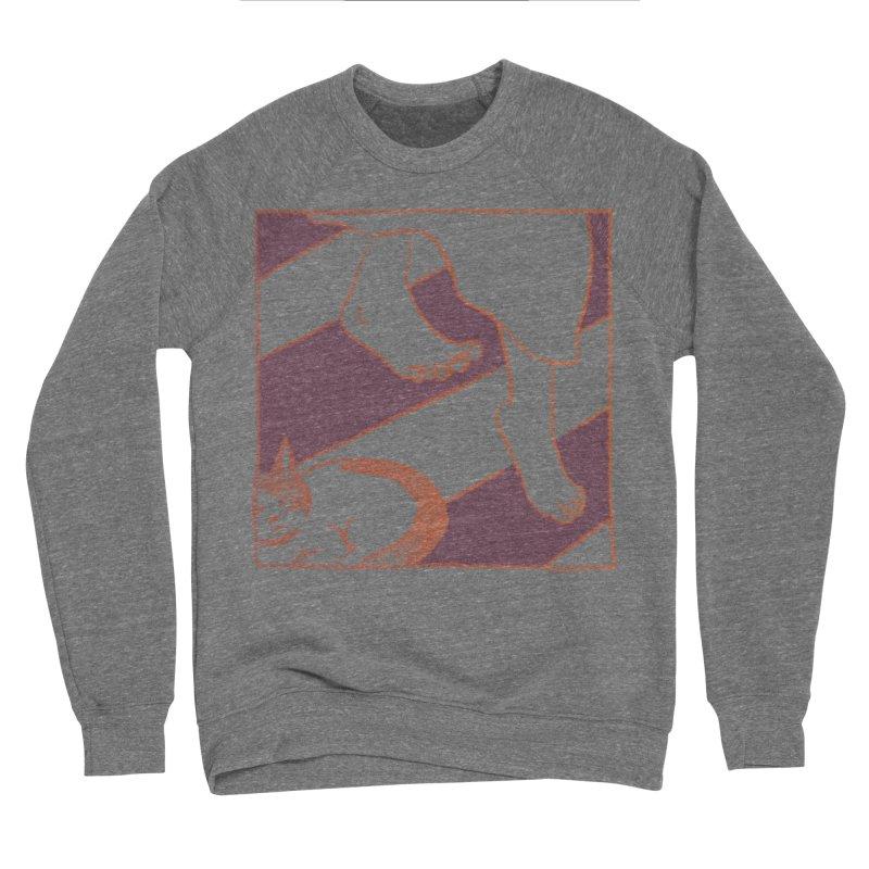 Sleepy Kitty Women's Sponge Fleece Sweatshirt by Stephanie Gobby's Artist Shop