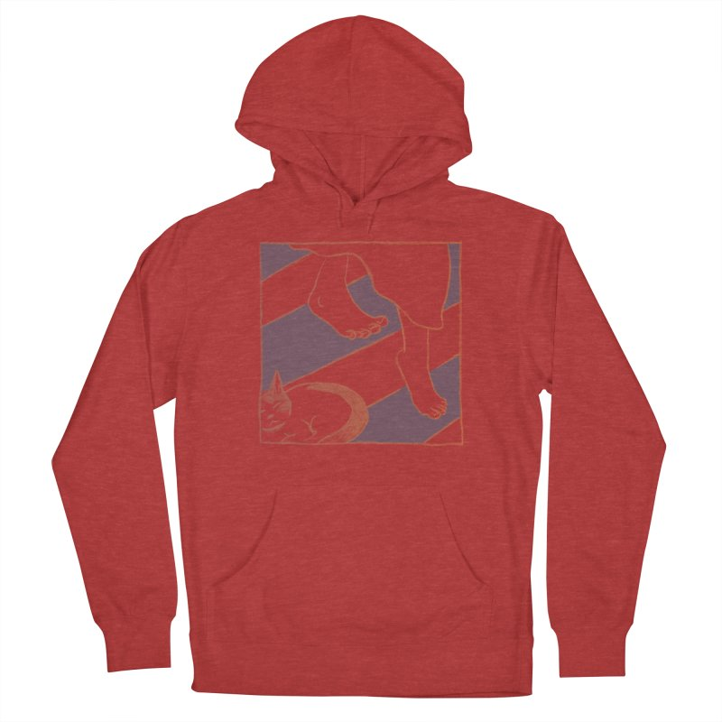 Sleepy Kitty Women's Pullover Hoody by Stephanie Gobby's Artist Shop