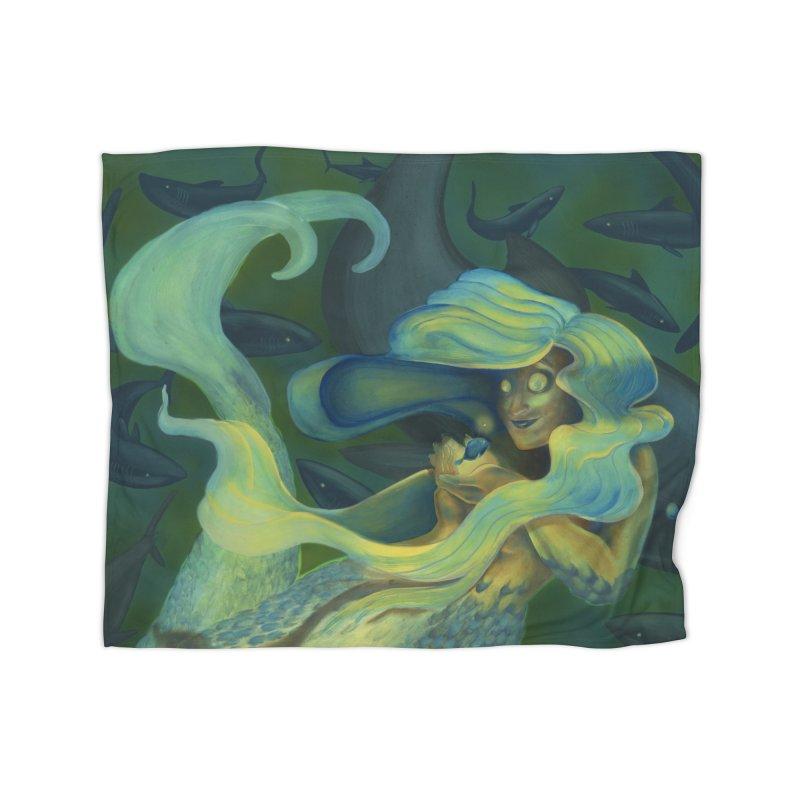 Deep Sea Friends Home Blanket by Stephanie Gobby's Artist Shop