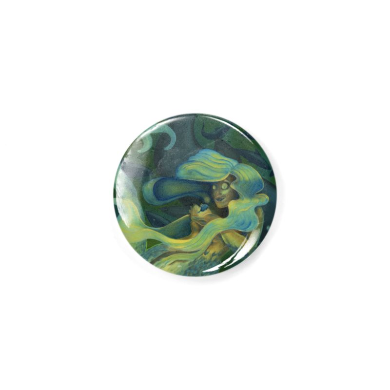 Deep Sea Friends Accessories Button by Stephanie Gobby's Artist Shop