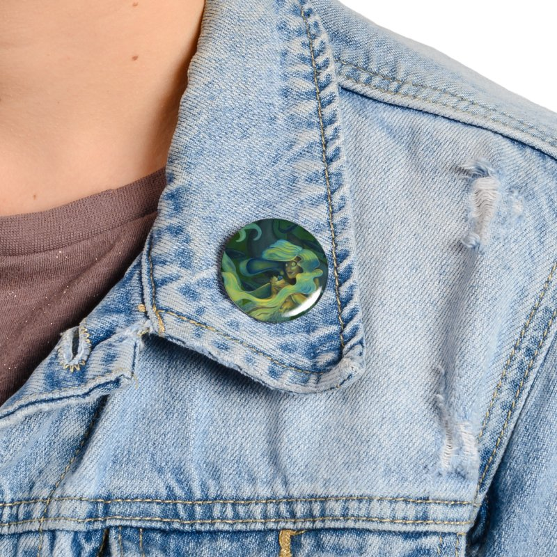 Deep Sea Friends Accessories Button by Stephanie Gobby's Artist Shop