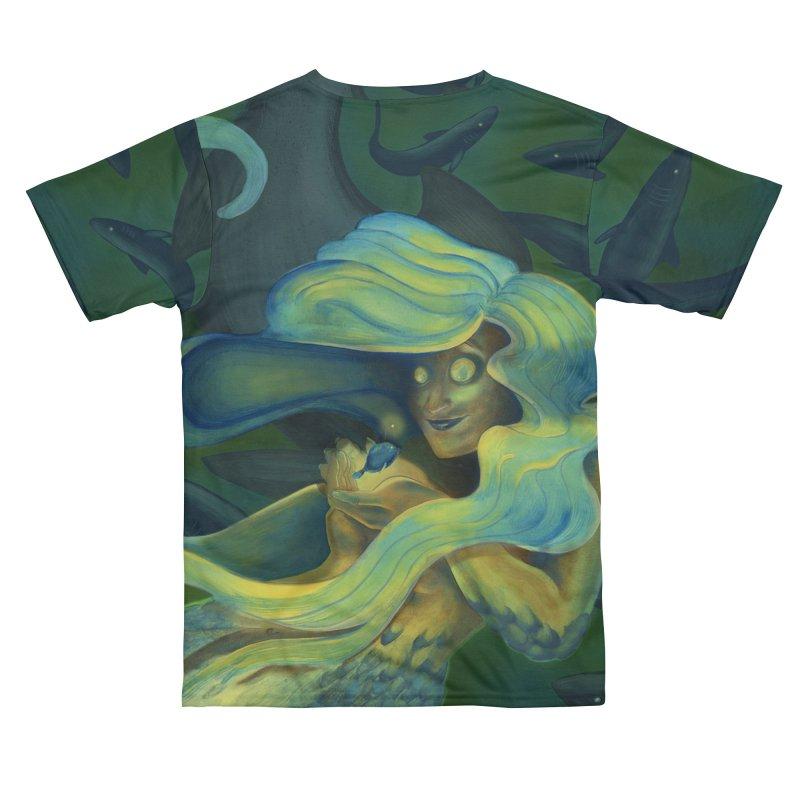 Deep Sea Friends Men's Cut & Sew by Stephanie Gobby's Artist Shop