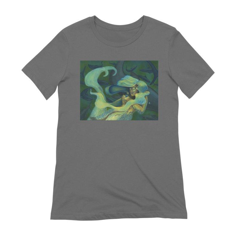 Deep Sea Friends Women's T-Shirt by Stephanie Gobby's Artist Shop