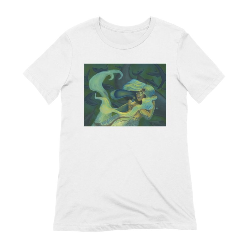 Deep Sea Friends Women's Extra Soft T-Shirt by Stephanie Gobby's Artist Shop