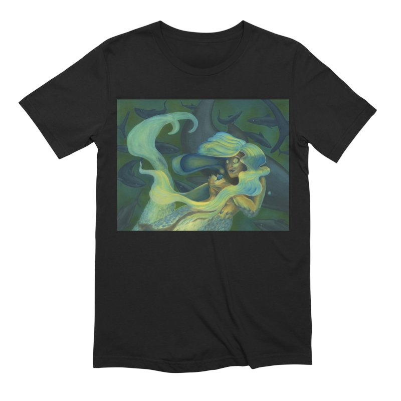 Deep Sea Friends Men's Extra Soft T-Shirt by Stephanie Gobby's Artist Shop