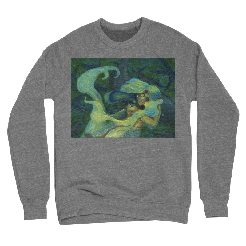 Deep Sea Friends Men's Sweatshirt by Stephanie Gobby's Artist Shop