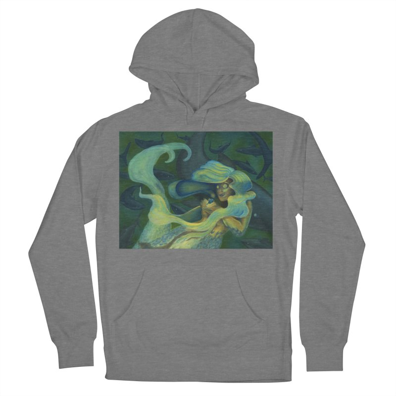 Deep Sea Friends Women's French Terry Pullover Hoody by Stephanie Gobby's Artist Shop