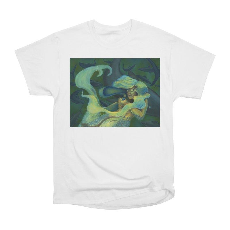 Deep Sea Friends Women's Heavyweight Unisex T-Shirt by Stephanie Gobby's Artist Shop