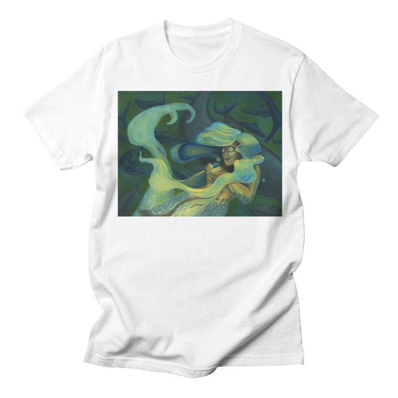 Deep Sea Friends Men's Regular T-Shirt by Stephanie Gobby's Artist Shop