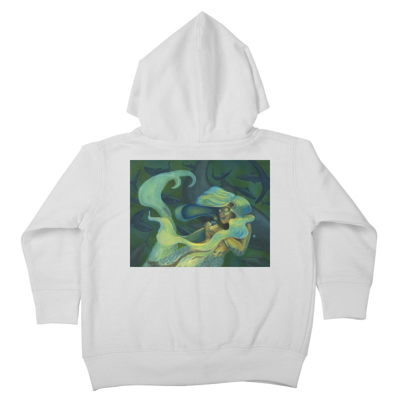 Deep Sea Friends Kids Toddler Zip-Up Hoody by Stephanie Gobby's Artist Shop