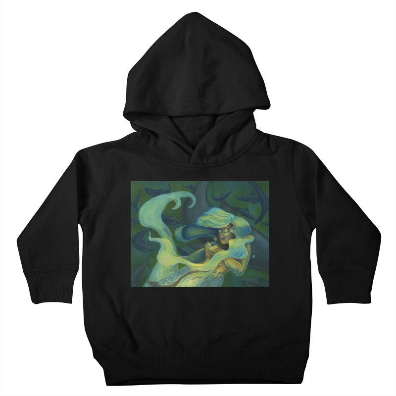 Deep Sea Friends Kids Toddler Pullover Hoody by Stephanie Gobby's Artist Shop