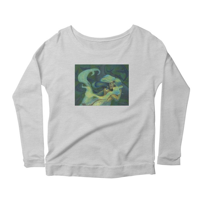 Deep Sea Friends Women's Scoop Neck Longsleeve T-Shirt by Stephanie Gobby's Artist Shop