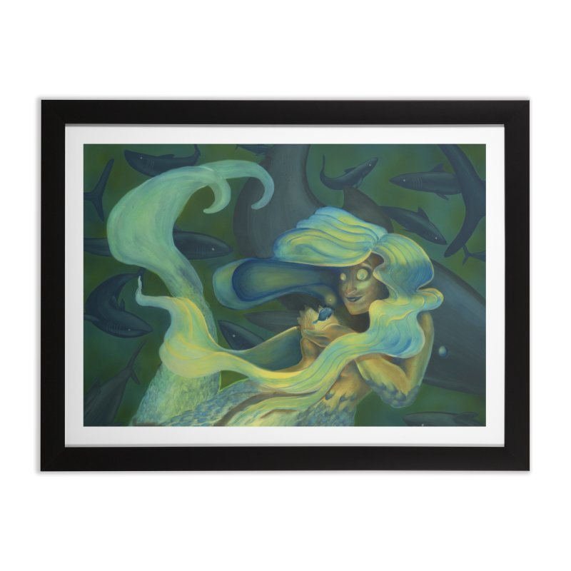Deep Sea Friends Home Framed Fine Art Print by Stephanie Gobby's Artist Shop
