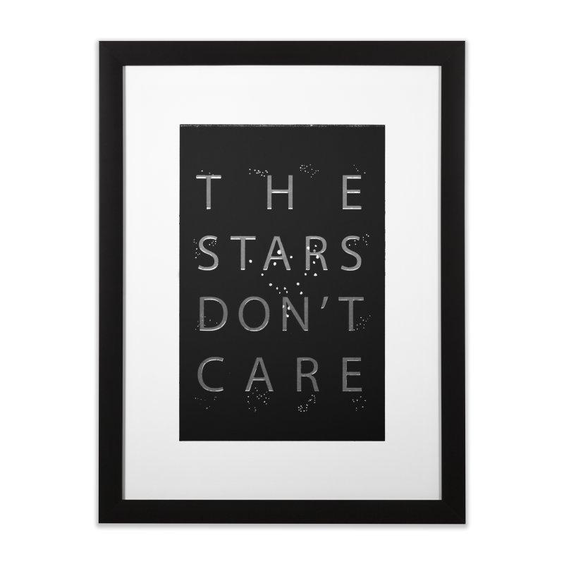 The Stars Don't Care Home Framed Fine Art Print by Stephanie Gobby's Artist Shop