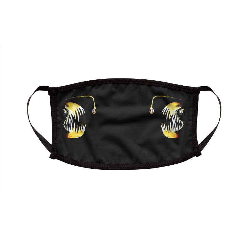 Angler fish! Accessories Face Mask by Stephanie Gobby's Artist Shop