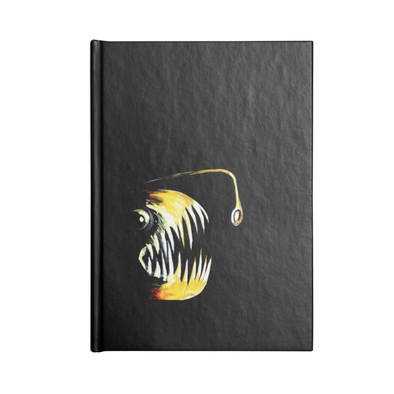 Angler fish! Accessories Lined Journal Notebook by Stephanie Gobby's Artist Shop