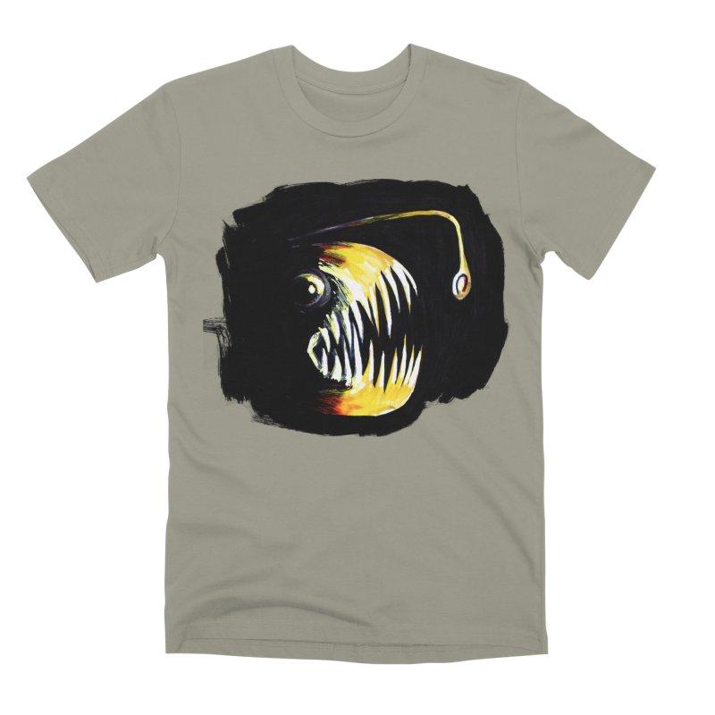 Angler fish! Men's T-Shirt by Stephanie Gobby's Artist Shop