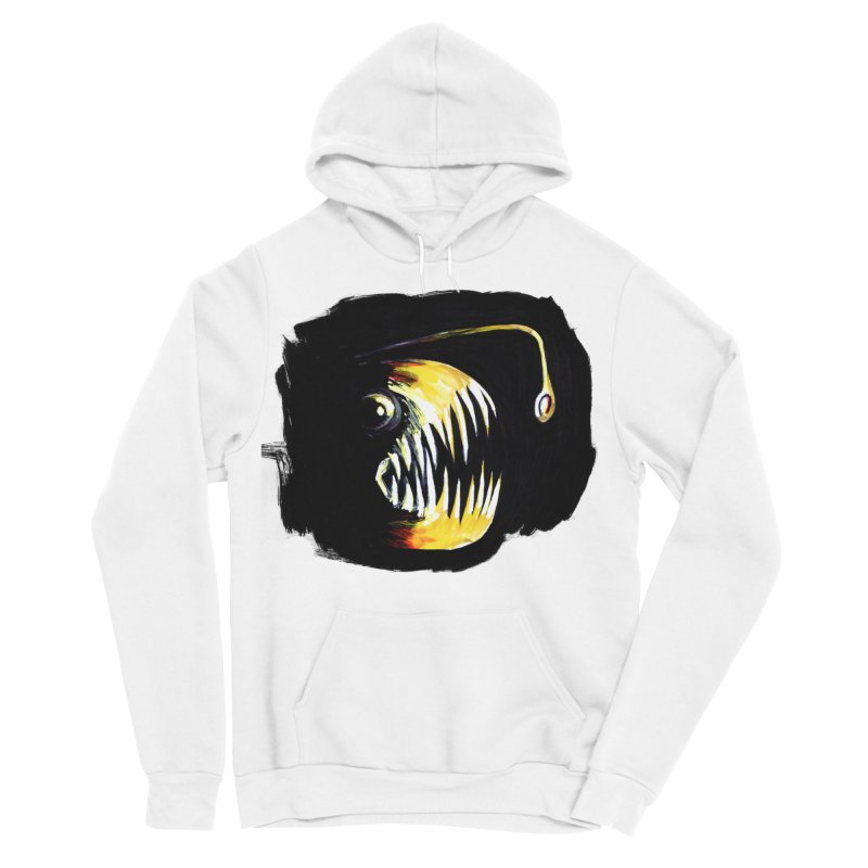 Angler fish! Men's Pullover Hoody by Stephanie Gobby's Artist Shop