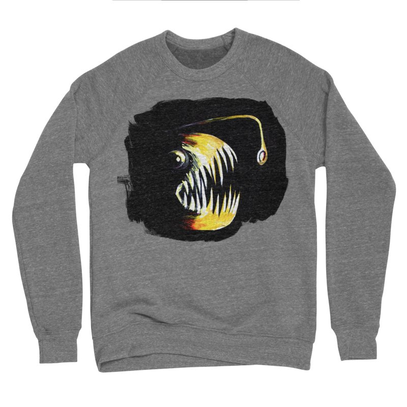 Angler fish! Men's Sweatshirt by Stephanie Gobby's Artist Shop