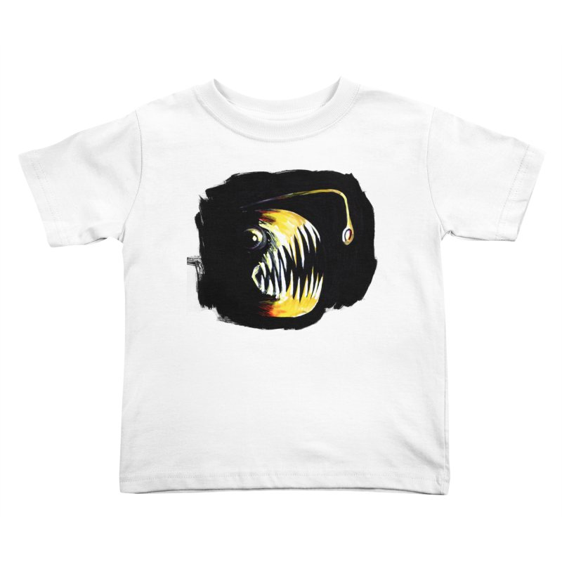 Angler fish! Kids Toddler T-Shirt by Stephanie Gobby's Artist Shop