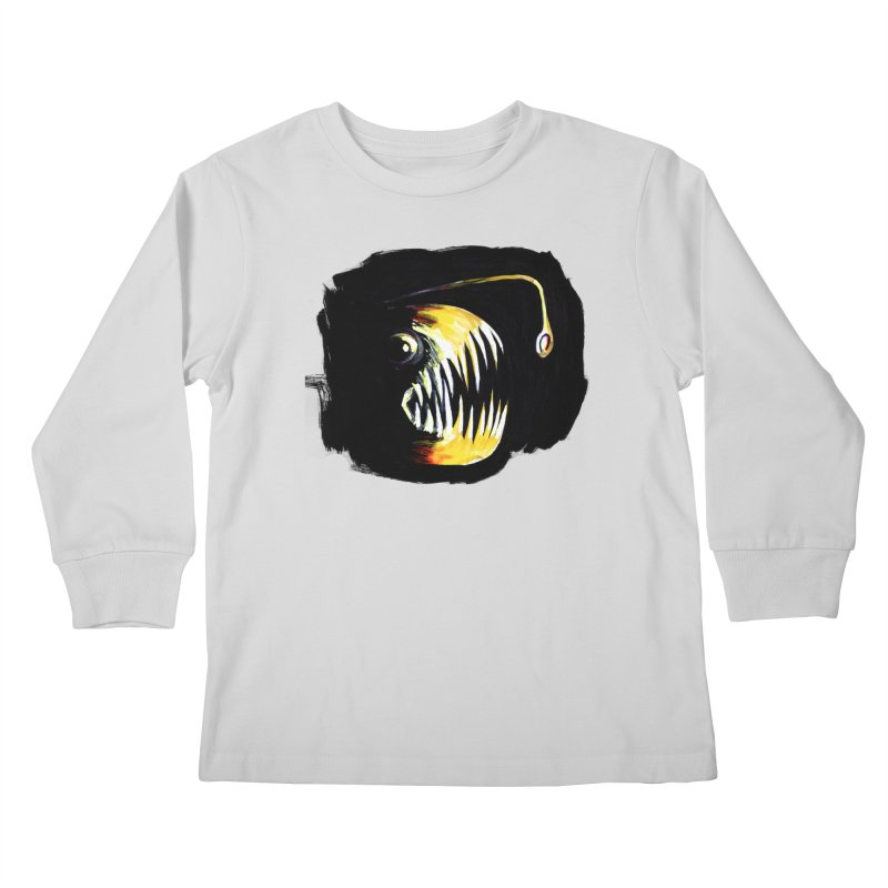 Angler fish! Kids Longsleeve T-Shirt by Stephanie Gobby's Artist Shop