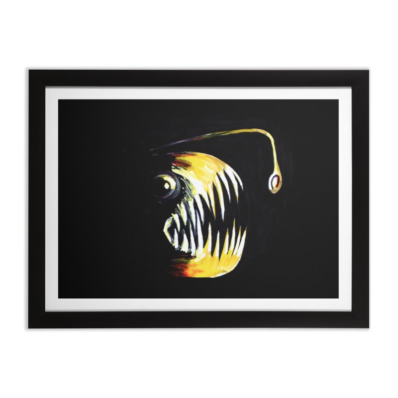 Angler fish! Home Framed Fine Art Print by Stephanie Gobby's Artist Shop