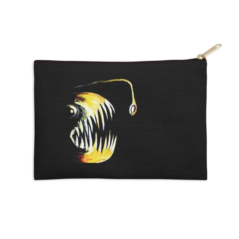 Angler fish! Accessories Zip Pouch by Stephanie Gobby's Artist Shop