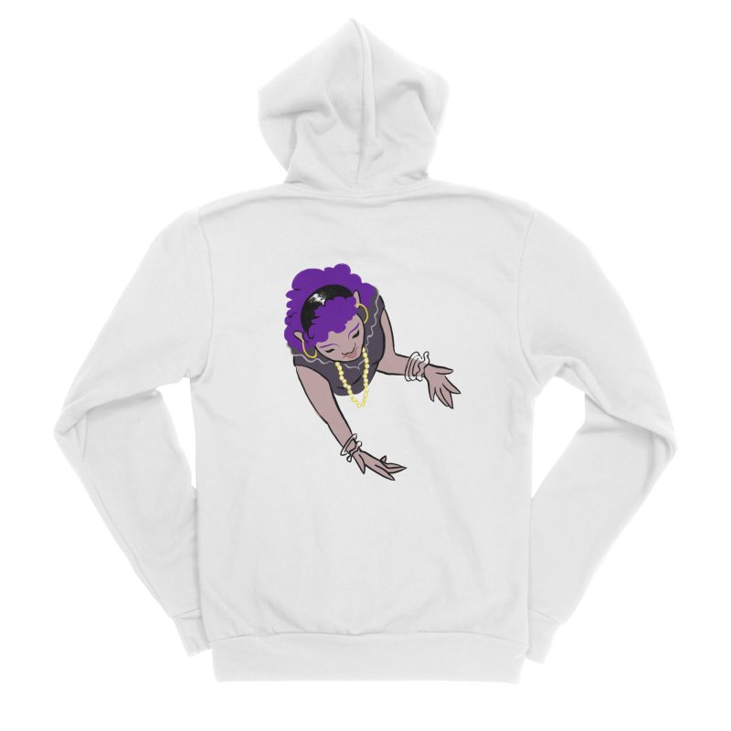 Girl Magic Men's Zip-Up Hoody by Stephanie Gobby's Artist Shop