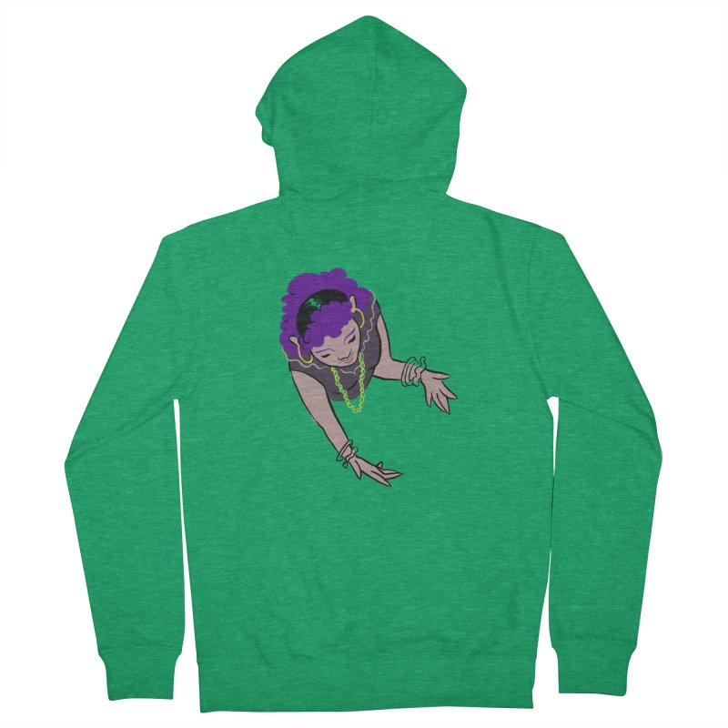 Girl Magic Women's Zip-Up Hoody by Stephanie Gobby's Artist Shop