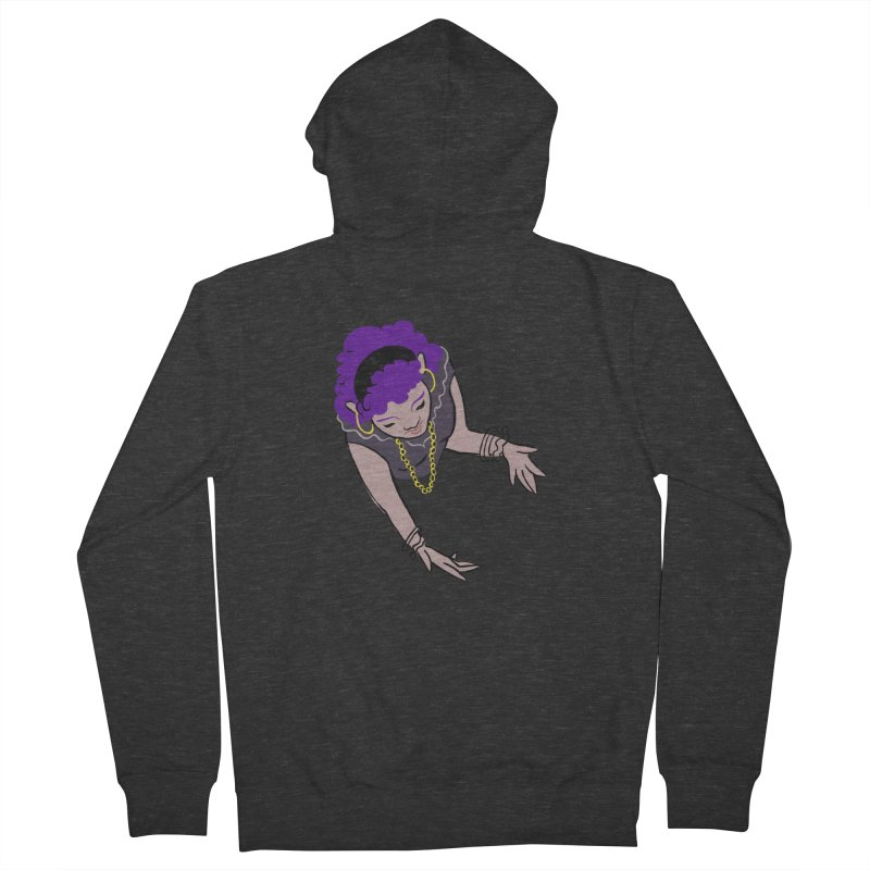 Girl Magic Women's French Terry Zip-Up Hoody by Stephanie Gobby's Artist Shop