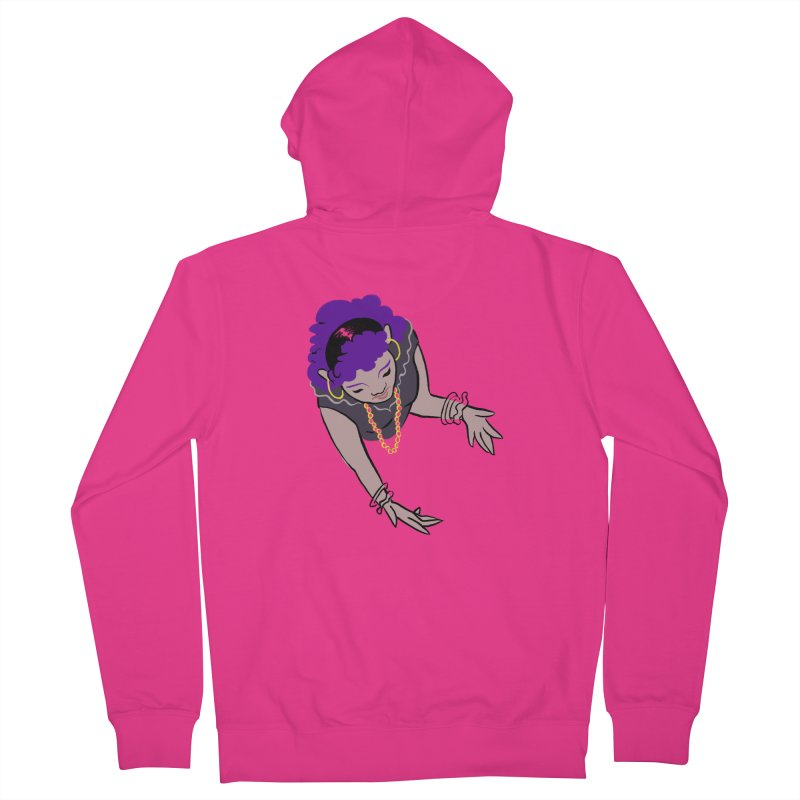 Girl Magic Men's French Terry Zip-Up Hoody by Stephanie Gobby's Artist Shop