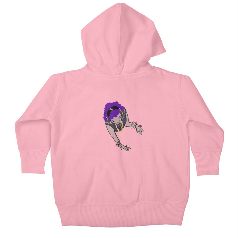 Girl Magic Kids Baby Zip-Up Hoody by Stephanie Gobby's Artist Shop