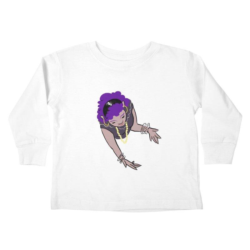 Girl Magic Kids Toddler Longsleeve T-Shirt by Stephanie Gobby's Artist Shop