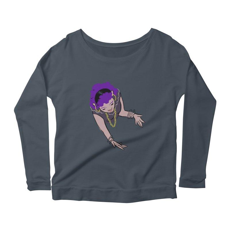 Girl Magic Women's Scoop Neck Longsleeve T-Shirt by Stephanie Gobby's Artist Shop