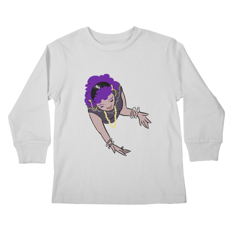 Girl Magic Kids Longsleeve T-Shirt by Stephanie Gobby's Artist Shop